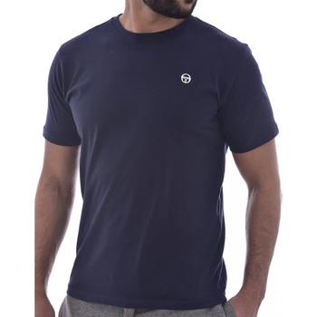 textil Hombre Camisetas manga corta Sergio Tacchini  Azul