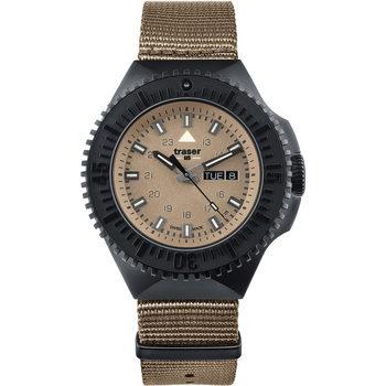 Relojes & Joyas Hombre Relojes analógicos Traser H3 Traser 109860, Quartz, 46mm, 20ATM Negro