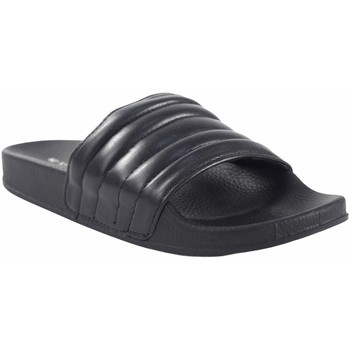Zapatos Mujer Zuecos (Mules) Kelara Playa señora  k12020 negro Negro