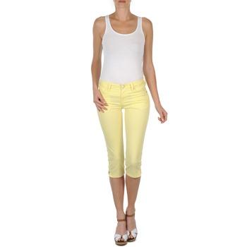 textil Mujer Pantalones cortos Mustang Jasmin cropped Amarillo