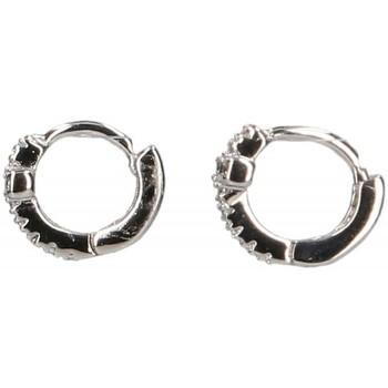 Relojes & Joyas Mujer Aretes Luna Collection 45080 plata