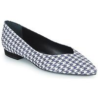 Zapatos Mujer Bailarinas-manoletinas JB Martin VERONICA Blanco