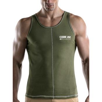 textil Hombre Camisetas sin mangas Code 22 Camiseta de tirantes Rush Código22 Lavanda