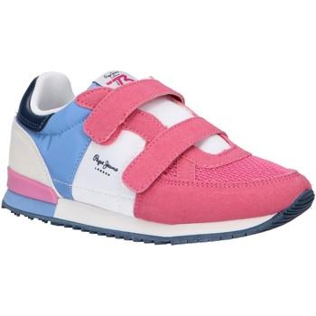 Zapatos Niña Multideporte Pepe jeans PGS30501 SYDNEY Rosa