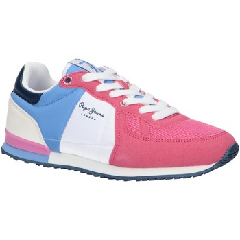 Zapatos Niña Multideporte Pepe jeans PGS30497 SYDNEY Rosa