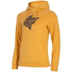 textil Hombre Sudaderas 4F BLM010 Amarillos