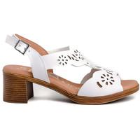 Zapatos Mujer Sandalias Spar Woman 4855 Blanco
