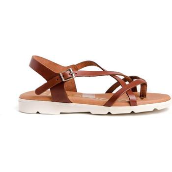 Zapatos Mujer Sandalias Spar Woman 4811 Marrón