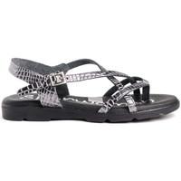 Zapatos Mujer Sandalias Spar Woman 4811 Negro