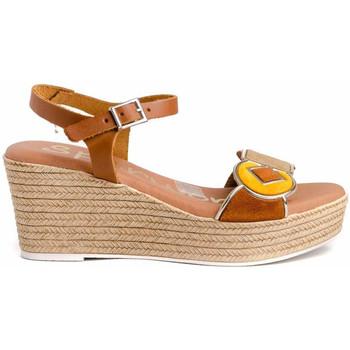 Zapatos Mujer Sandalias Spar Woman 4882 Marrón