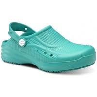 Zapatos Hombre Zuecos (Clogs) Feliz Caminar Zueco Laboral Flotantes Evolution - Verde
