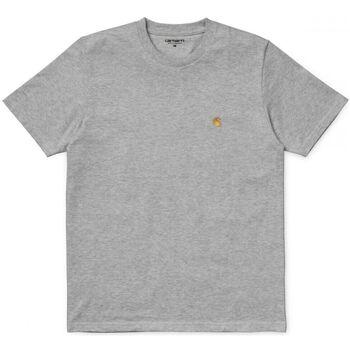 textil Hombre Camisetas manga corta Carhartt Chase Tee Gris