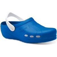 Zapatos Hombre Zuecos (Clogs) Feliz Caminar Zuecos Sanitarios Asana - Azul