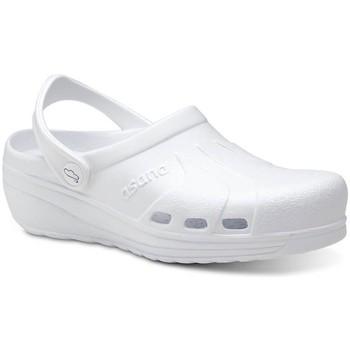 Zapatos Hombre Zuecos (Clogs) Feliz Caminar Zuecos Sanitarios Asana - Blanco