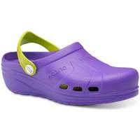 Zapatos Hombre Zuecos (Clogs) Feliz Caminar Zuecos Sanitarios Asana - Multicolor