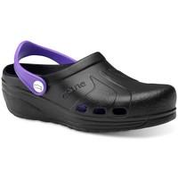 Zapatos Hombre Zuecos (Clogs) Feliz Caminar Zuecos Sanitarios Asana - Negro