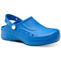 Zapatos Hombre Zuecos (Clogs) Feliz Caminar Zueco Laboral Flotantes Evolution - Azul
