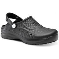 Zapatos Hombre Zuecos (Clogs) Feliz Caminar Zueco Laboral Flotantes Evolution - Negro