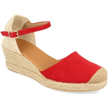 Zapatos Mujer Alpargatas Shoes&blues SB-22001 Rojo