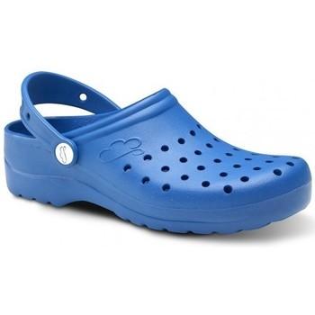 Zapatos Hombre Zuecos (Clogs) Feliz Caminar Zuecos Sanitarios Flotantes Gruyere - Azul