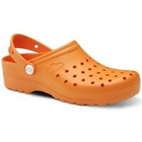 Zapatos Hombre Zuecos (Clogs) Feliz Caminar Zuecos Sanitarios Flotantes Gruyere - Naranja