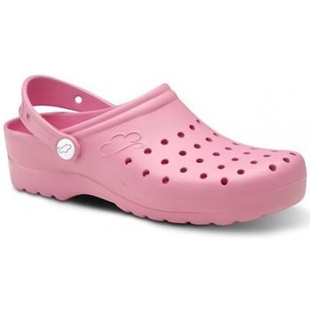 Zapatos Hombre Zuecos (Clogs) Feliz Caminar Zuecos Sanitarios Flotantes Gruyere - Rosa
