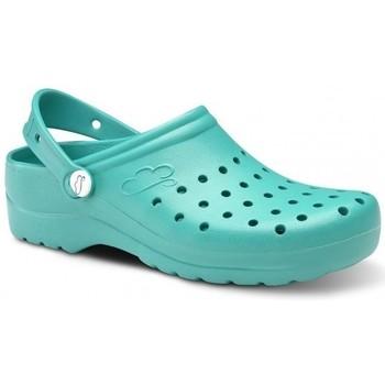 Zapatos Hombre Zuecos (Clogs) Feliz Caminar Zuecos Sanitarios Flotantes Gruyere - Verde