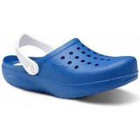 Zapatos Hombre Zuecos (Clogs) Feliz Caminar Zuecos Sanitarios Kinetic - Azul
