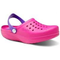 Zapatos Hombre Zuecos (Clogs) Feliz Caminar Zuecos Sanitarios Kinetic - Rosa
