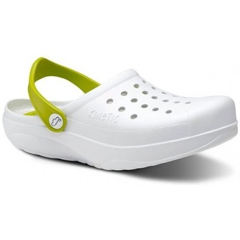 Zapatos Hombre Zuecos (Clogs) Feliz Caminar Zuecos Sanitarios Kinetic - Blanco