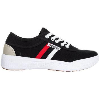 Zapatos Hombre Zapatillas bajas Kawasaki Leap retro canvas shoe - black Negro