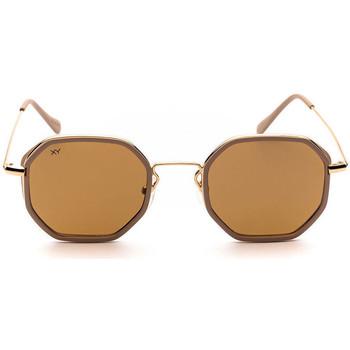 Relojes & Joyas Gafas de sol Sunxy Leucade Oro