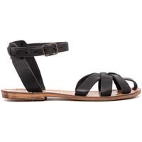 Zapatos Mujer Sandalias Gianluca - L'artigiano Del Cuoio 503-NERO-FT NERO
