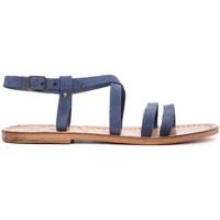 Zapatos Mujer Sandalias Gianluca - L'artigiano Del Cuoio 531-JEANS BLU