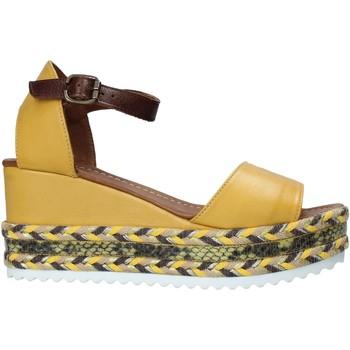 Zapatos Mujer Sandalias Bueno Shoes 21WQ6000 Amarillo