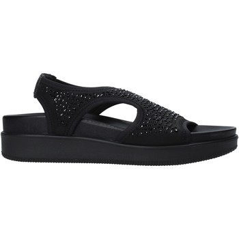 Zapatos Mujer Sandalias Enval 7281300 Negro
