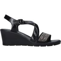 Zapatos Mujer Sandalias Enval 7279100 Negro