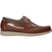 Zapatos Hombre Zapatos náuticos Rogers 2871-ESC Marrón