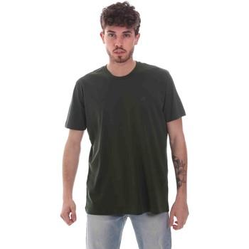 textil Hombre Camisetas manga corta Key Up 2M915 0001 Verde