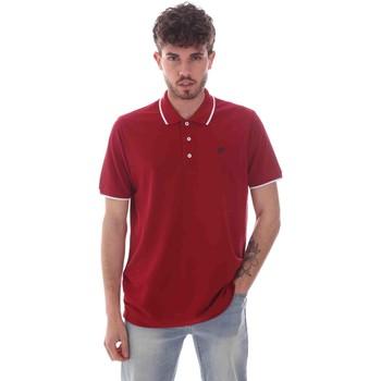 textil Hombre Polos manga corta Key Up 2Q711 0001 Rojo
