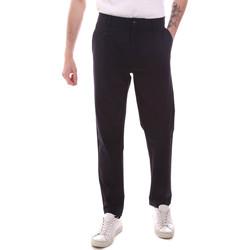 textil Hombre Pantalones chinos Gaudi 111GU25068 Azul