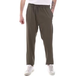 textil Hombre Pantalones fluidos Gaudi 111GU25069 Verde
