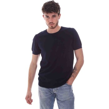 textil Hombre Camisetas manga corta Gaudi 111GU53004 Azul