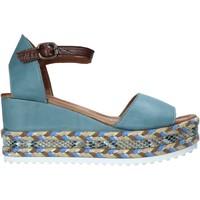 Zapatos Mujer Sandalias Bueno Shoes 21WQ6000 Azul