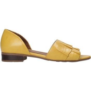 Zapatos Mujer Sandalias Bueno Shoes 21WN5100 Amarillo