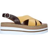 Zapatos Mujer Sandalias Bueno Shoes 21WS5704 Amarillo