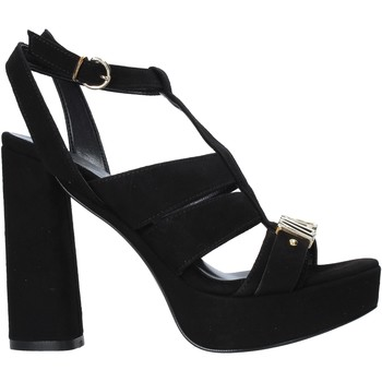 Zapatos Mujer Sandalias Alviero Martini E128 8058 Negro