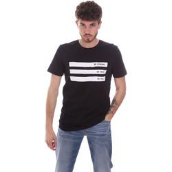 textil Hombre Camisetas manga corta Antony Morato MMKS02035 FA100144 Azul