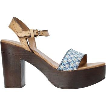 Zapatos Mujer Sandalias Alviero Martini E112 626A Azul