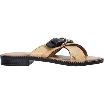 Zapatos Mujer Zuecos (Mules) Alviero Martini E085 578A Marrón